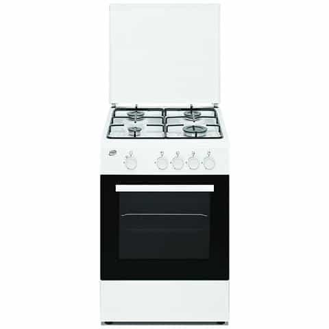 Cucina A Gas Forno A Gas Beko 54 Litri 50 Cm CSG42001FW